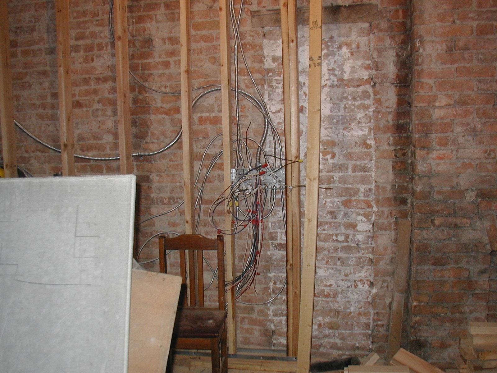 Interior Brick Walls Affordable How To Hang Art On Exposed Brick Walls Exposed Brick Blue And