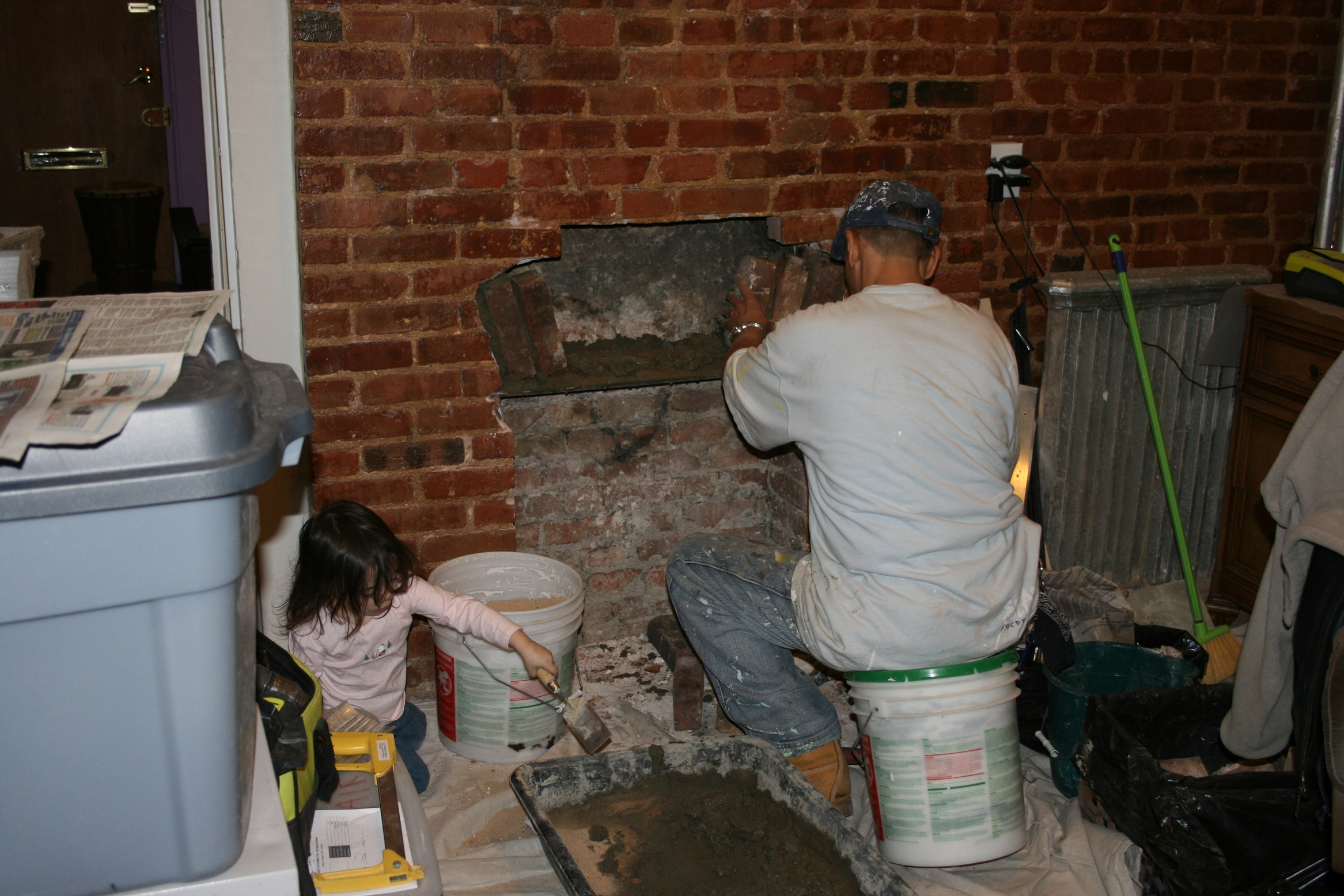 Properly closing and old fire place or flue no longer used for Close chimney flue
